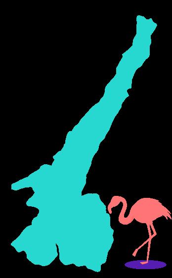 illustrazione lago di garda